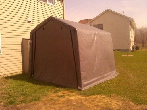 10x10x8 Portable. Temporary. Garage. Shed. 6 months old ...