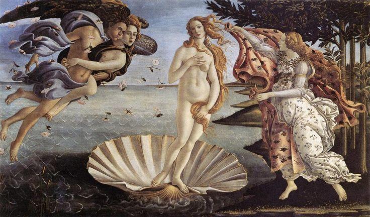 Η γέννηση της Αφροδίτης (1485)