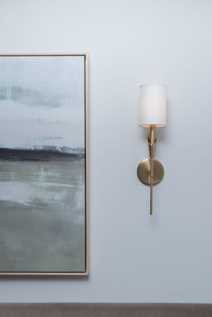 Hudson Valley Lighting, 1311-AGB, Tate Wall Sconce in Aged Brass
