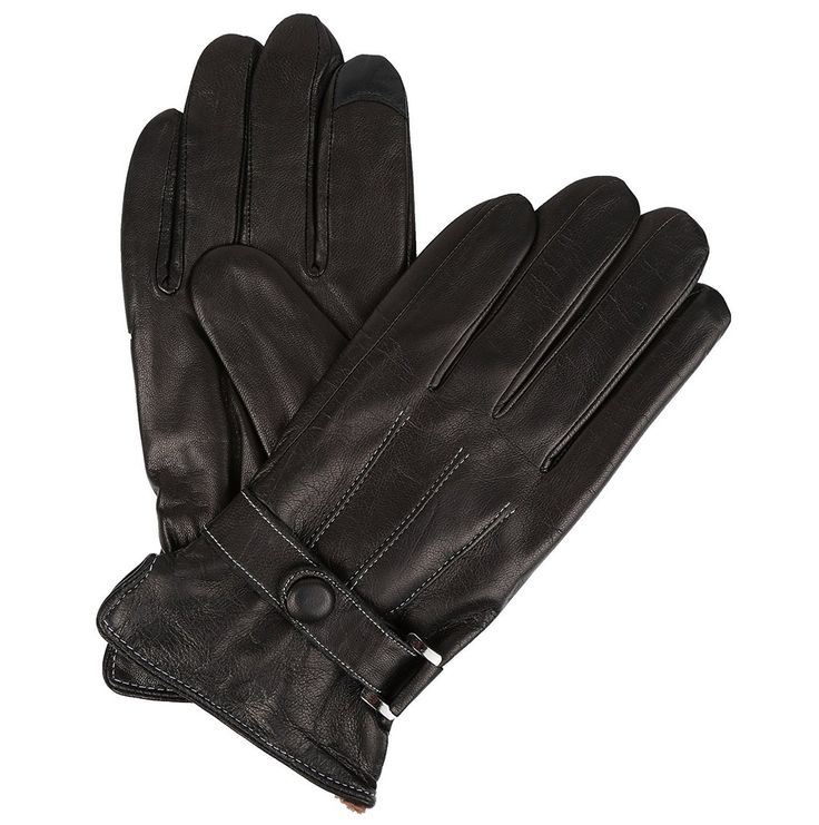 These gloves feature a classic, timeless, and effortless design and cut. The fingers of these gloves are touch screen compatible so you won't have to worry about taking your gloves off in order to use touch screen devices! #leather #thermal #best #safety #fleece #insulated #gloves #winter #brown #hand #mens #long #womens  #ladies #fur #protective