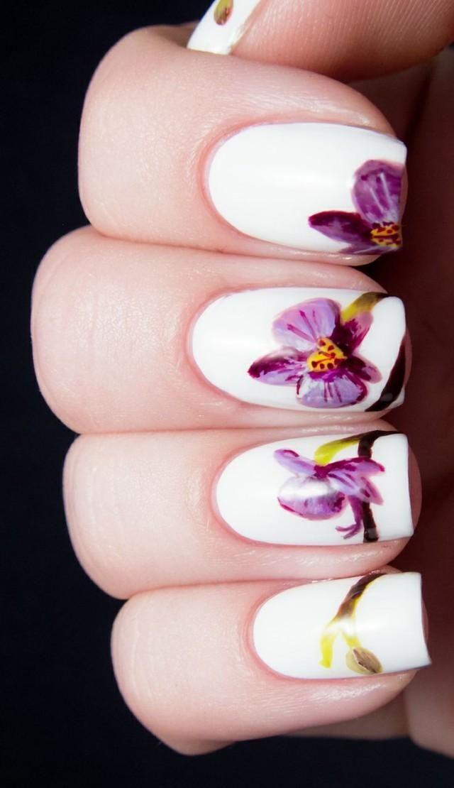 картинки ногтей с лилиями знаете