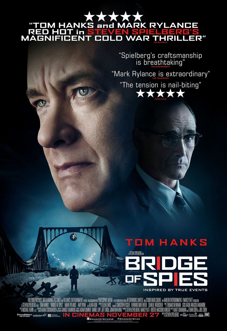 Casuslar Köprüsü, Bridge of Spies - http://www.omurokur.com/2016/02/casuslar-koprusu-bridge-of-spies/