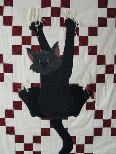 cat quilt