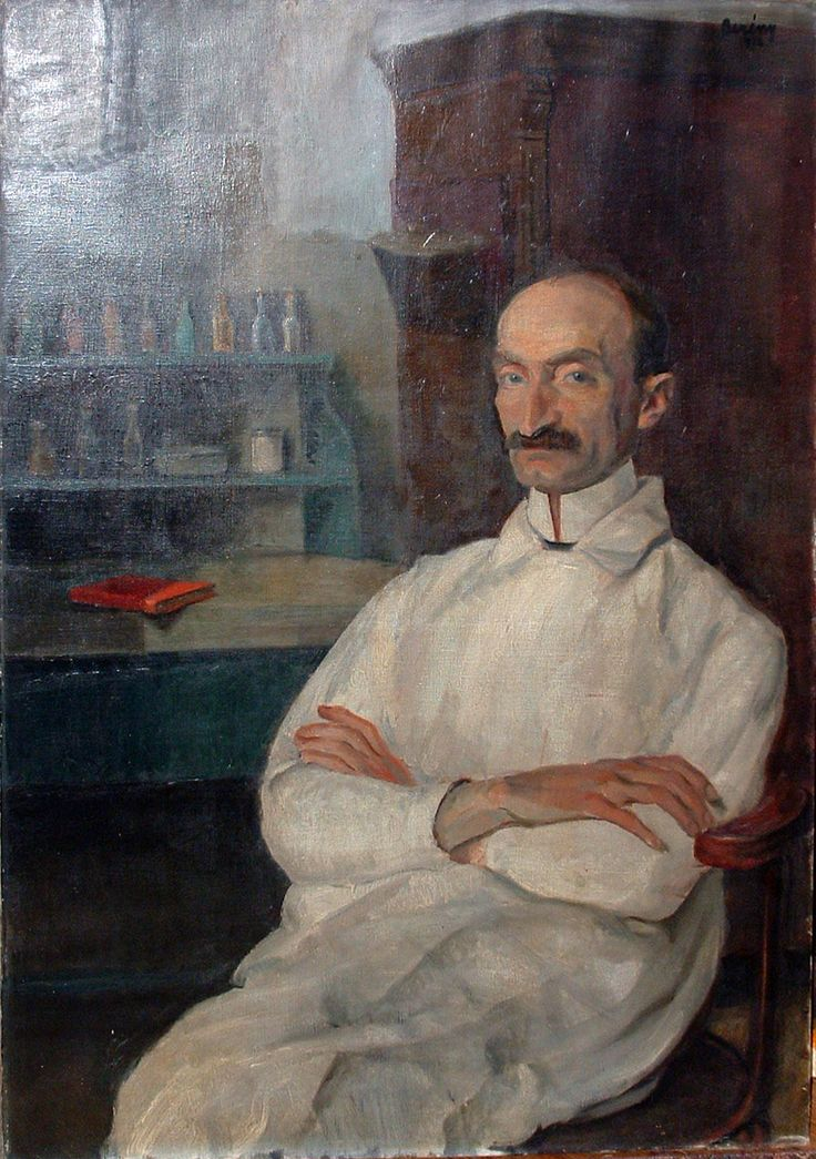 BERÉNY Róbert: Soma Beck, army surgeon, 1916