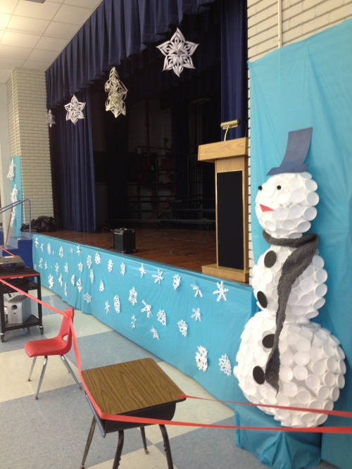 big chill performance decorations: