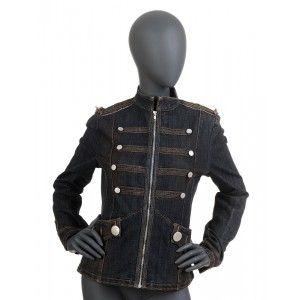 Wybór Fashioncode - jeansowy żakiet damski