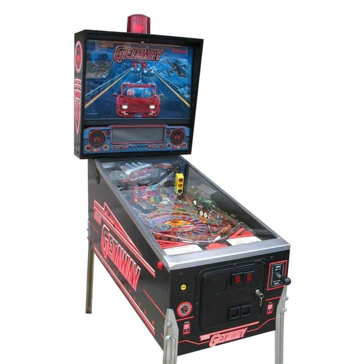 Getaway: High Speed 2 Pinball Machine by Williams