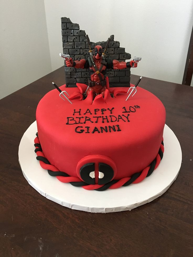 Best 25 Deadpool Cake Ideas On Pinterest Deadpool