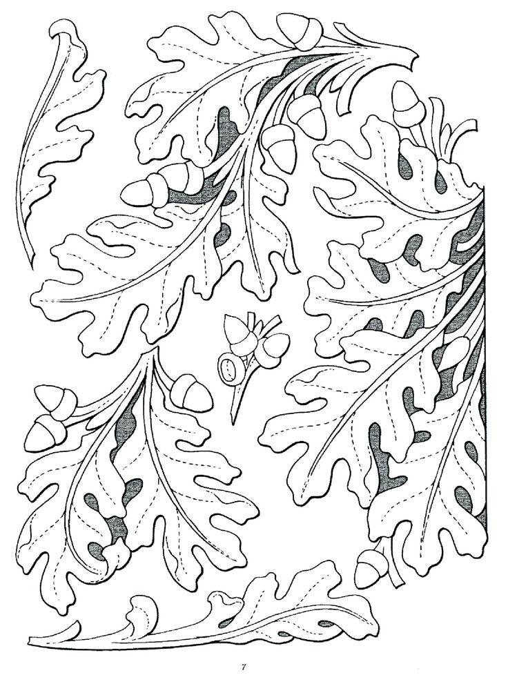 Leaf chip carving pinterest