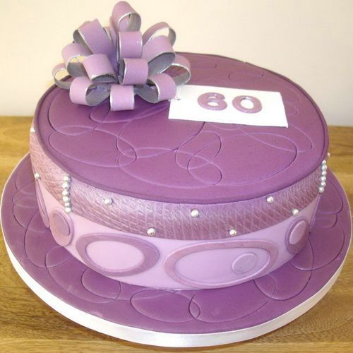 25 best ideas about purple birthday cakes on pinterest for 60th birthday cake decoration ideas