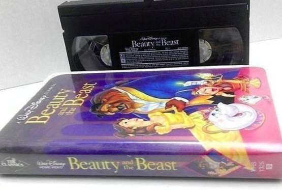 BEAUTY AND THE BEAST ON VHS In the modern era, VHS tapes can be surprisingly valuable, even if most people no longer own a VCR. The Disney classic Beauty and the Beast is a particular gold mine. Listings on eBay for a Black Diamond edition of the 1991 film run from £35 to £6,000. And people do buy them: One sold for £680 in April.Provided by: eBay/Mental Floss