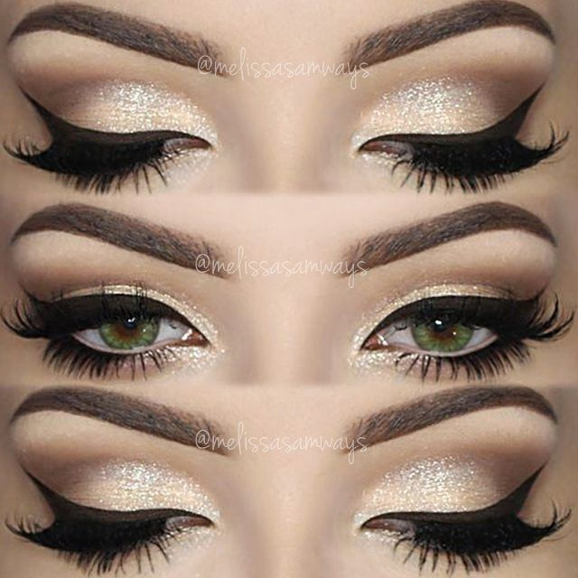 Champagne Smokey Eye! Makeup TUTORIAL Link in my Bio and Subscribe in my…