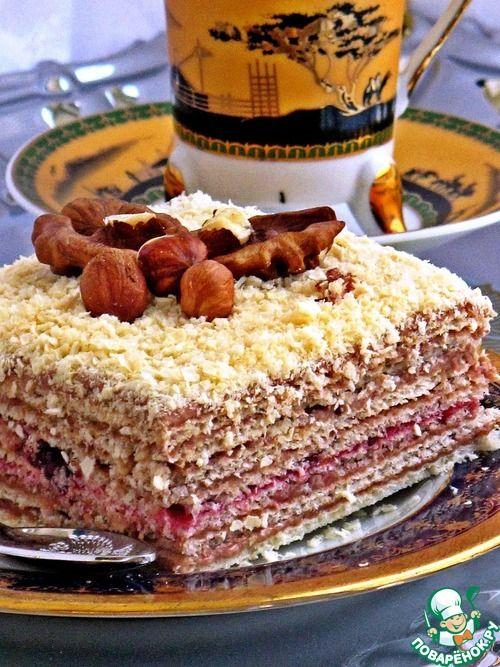 """Торт вафельный """"Восточный"""" - кулинарный рецепт"""