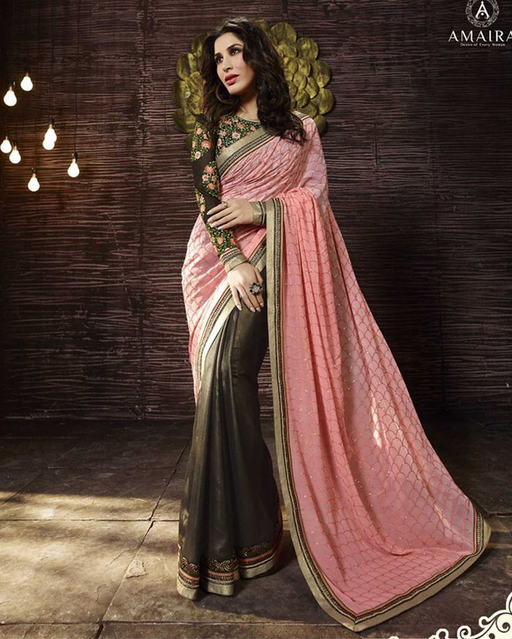 Peach Fancy Embroidered Shimmer Georgette latest trendy Sarees Fabric: Shimmer Georgette Work: Embroidered Type: latest trendy Sarees Color: Peach Saree Fabric Shimmer Georgette Blouse Fabr