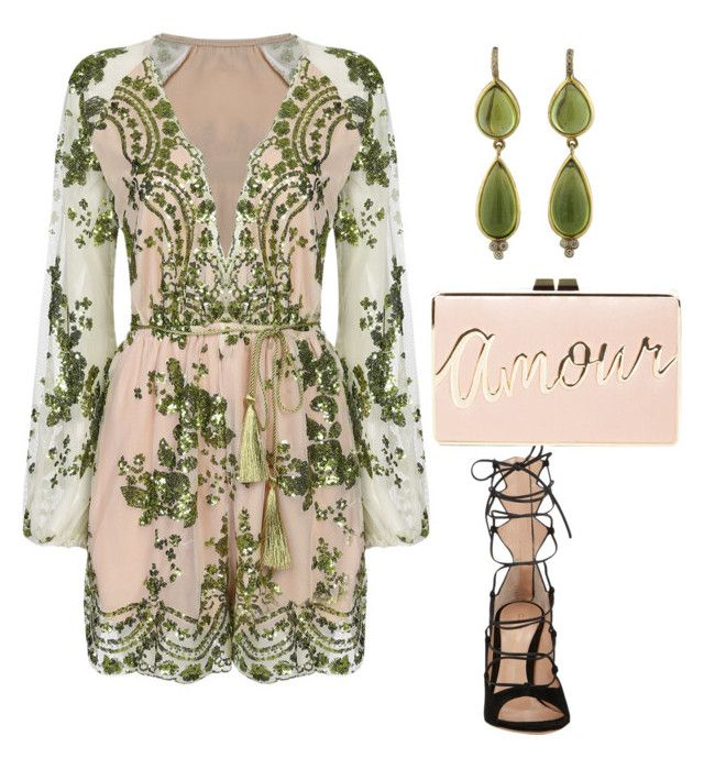 """""""Untitled #726"""" by mchlap on Polyvore featuring Temple St. Clair, Gianvito Rossi and BCBGMAXAZRIA"""