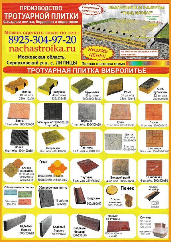 Блог о строительстве и ремонте. Фото и Видео: Мощение бетонной плиткой – наиболее популярный вид...