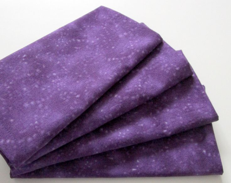 Large Cloth Napkins - Set of 4 - Purple Texture - Dinner, Table, Everyday, Wedding by ClearSkyHome on Etsy