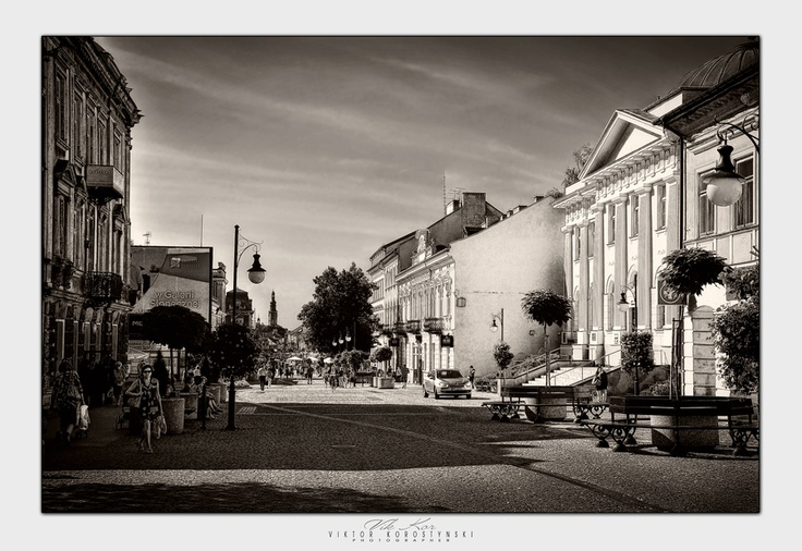 Streets Of Radom. Poland city, street, church, window, house, tower, old, tourism, architecture, roof, poland, building, monument, square, history, wall, town, landmark, catholic, historic, vikkor, Radom, mazovian