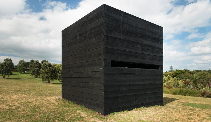 Jonathan Organ + Jessica Pearless - 'Blind' - 2015 - Sculpture in the Gardens, Auckland Botanic Gardens, 2015 - 2016.