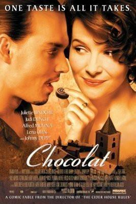 Chocolat Movie Poster Standup 4inx6in