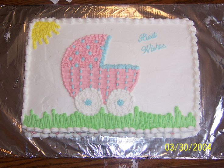 183 Best Baby Shower Cakes Images On Pinterest | Baby Shower Sheet Cakes,  Cake And Baby Shower Cakes