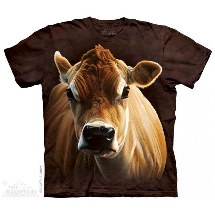 The Mountain, How Now Brown Cow gyermek rövidujjú 3D amerikai póló