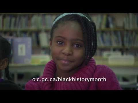 Proud of our History - Blacks in Canada - Black History Month