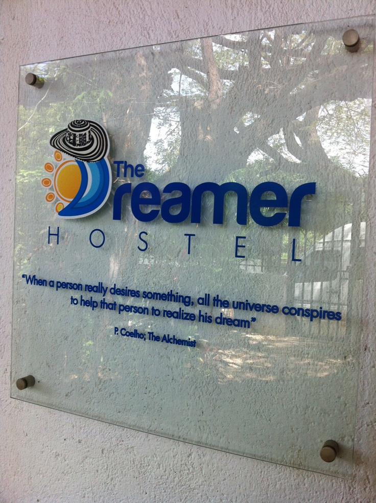 Hostel in Santa Marta, Colombia.  Highly recommended!
