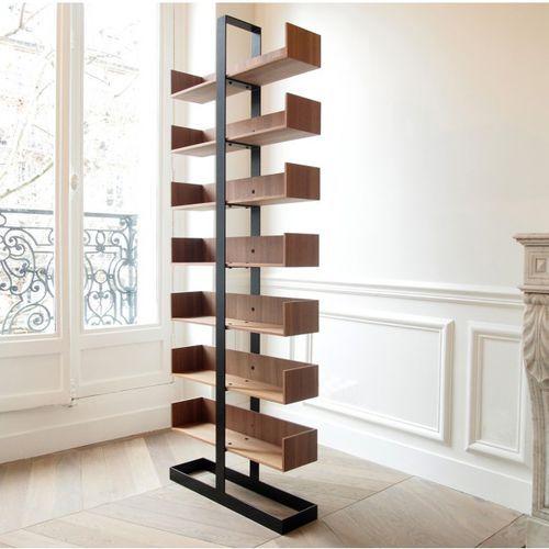 Contemporary shelf / oak / plywood / beech SÉVERIN 1 Alex de Rouvray Design