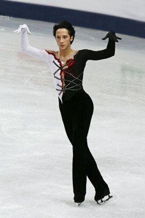 Johnny Weir  - Men's Figure Skating / Ice Skating dress inspiration for Sk8 Gr8 Designs.