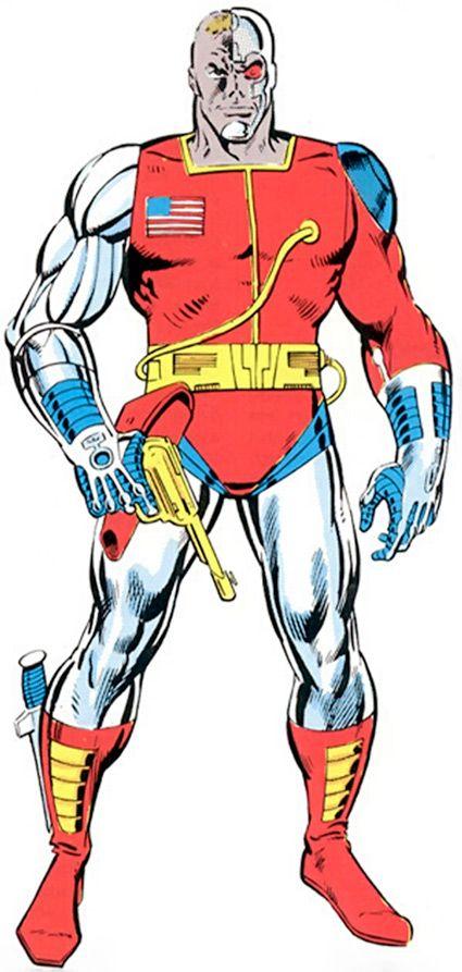 Deathlok the Demolisher - Marvel Comics - Luther Manning