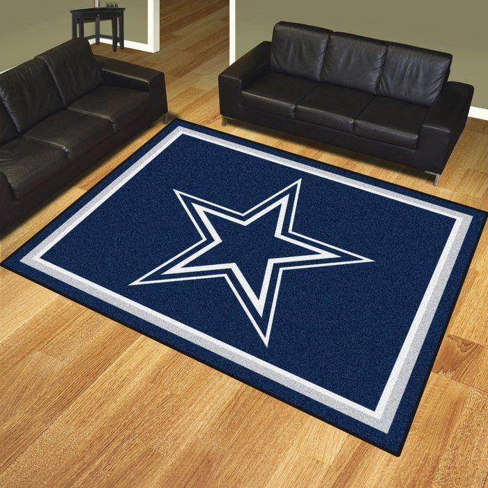 Nfl Dallas Cowboys Area Rug Cowboy Rugs Dallas Cowboys Decor Dallas Cowboys Room