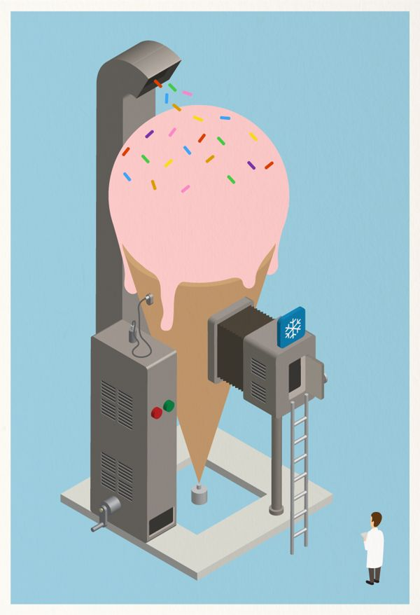 Ice Pop ! by Mother Volcano, via Behance