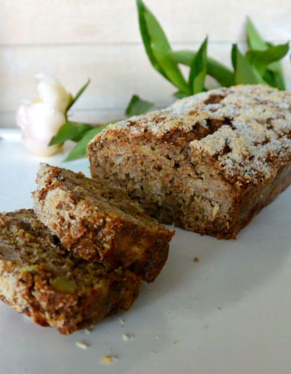 Slank bananenbrood met appel en speltmeel ♥ Foodness - good food, top products, great health