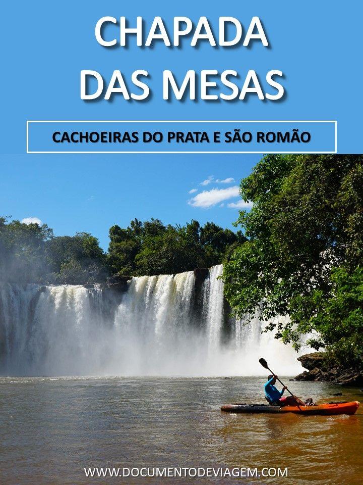 Cachoeiras Do Prata E Sao Romao Chapada Das Mesas Maranhao