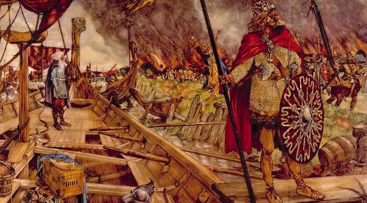 Nordisk Mytologi: Vikingetidens religion er kampen for orden mellem guder og jætter. Læs om den her (følg link)