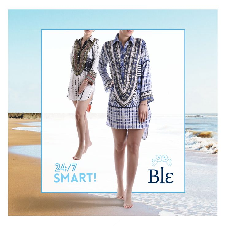 "Shirtdresses are your ultimate fashion frontier since they add a ""smart"" factor to your everyday casual look.Tip: pair them with jeans, tights or shorts in any colour! Find them here http://www.ble-shop.com/clothes/skirts-dresses.html #blestyle"
