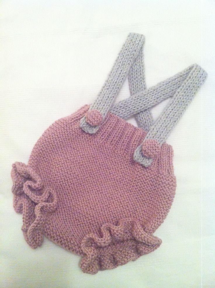 Culotte tejido a mano. Knitters!!