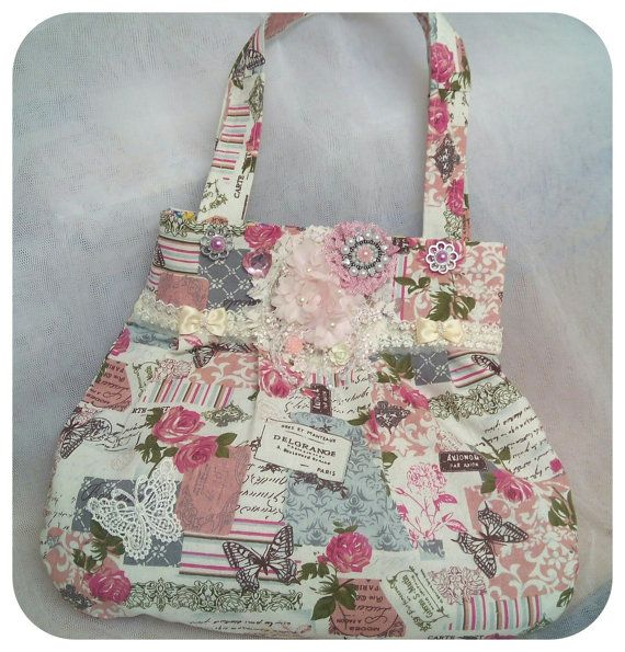 Two Beautiful Bags In One Reversible Two by Ladydarinefinecrafts