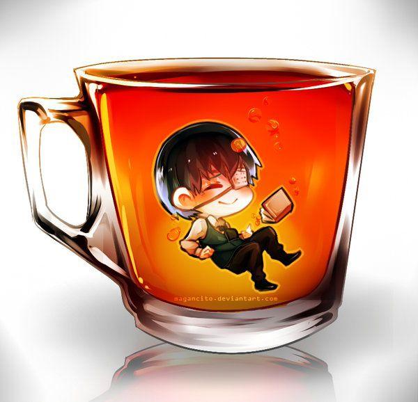 Coffee Ghoul kaneki by Magancito