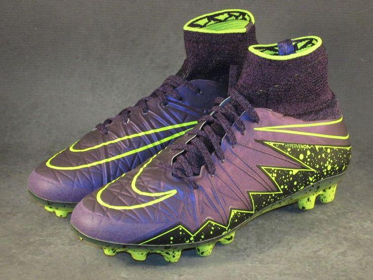 Men's Nike Hypervenom Phantom 2/II AG-R Soccer Cleats Size 7.5 Purple #Nike