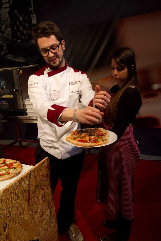 Beniamino Bilali pizza verdure 02