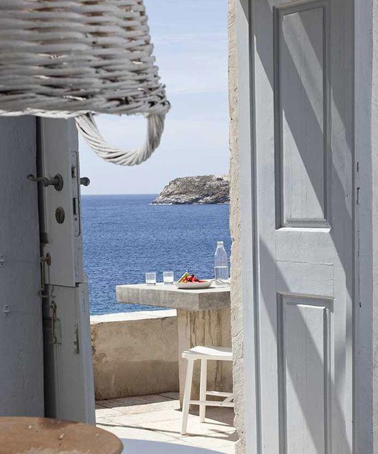 Coco-Mat Eco Resdences in Serifos Island, Aegean sea.