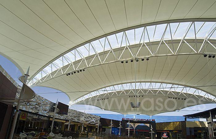 IASO, S.A. Textile Architecture, Imaginalia shopping centre