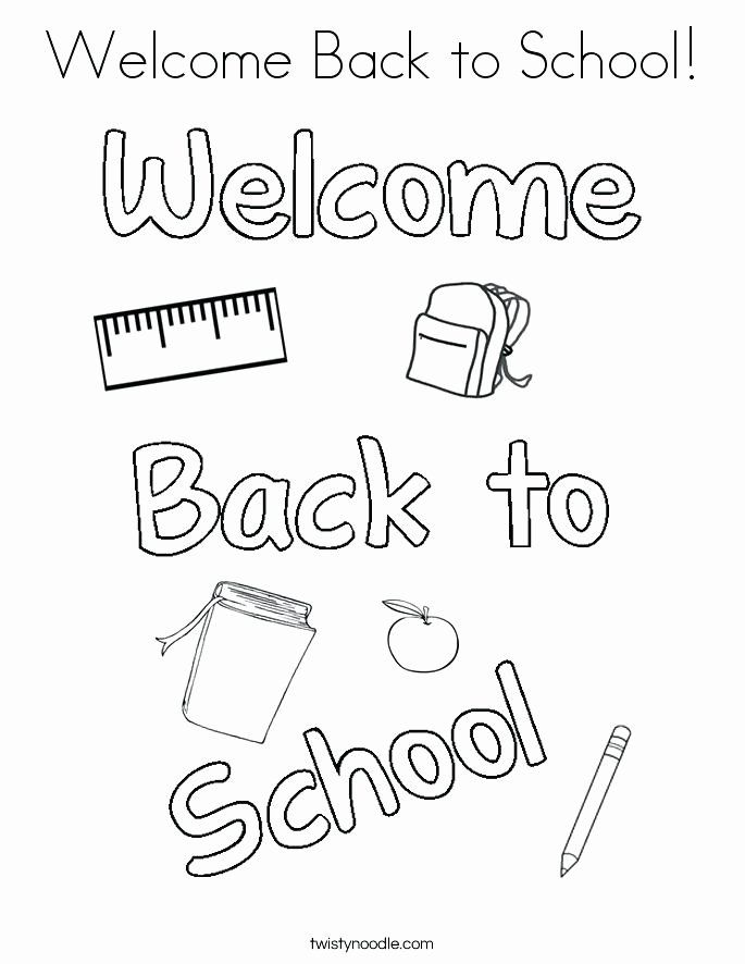 Welcome Home Coloring Page Luxury Wel E Home Coloring Page At Getcolorings Welcome Back To School School Coloring Pages Preschool Coloring Pages