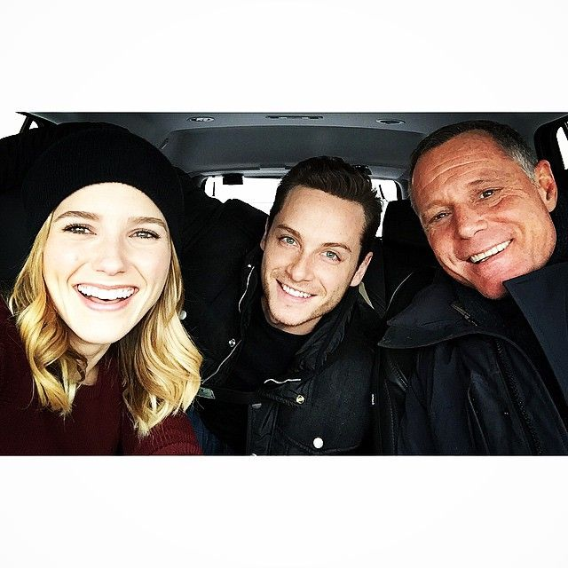 Jason Beghe, Sophia Bush and Jesse Lee Soffer