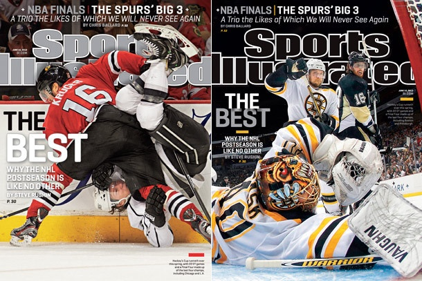 This Week's Covers     Why the NHL Postseason is like no other: