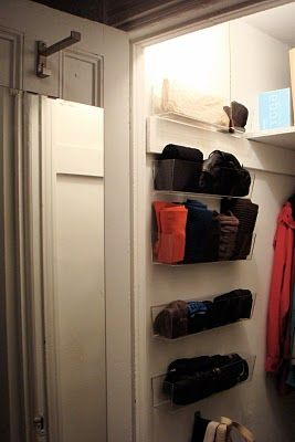 T H E O R D E R O B S E S S E D: What To Do With A Deep Coat Closet AND A  Few Of My Favorite