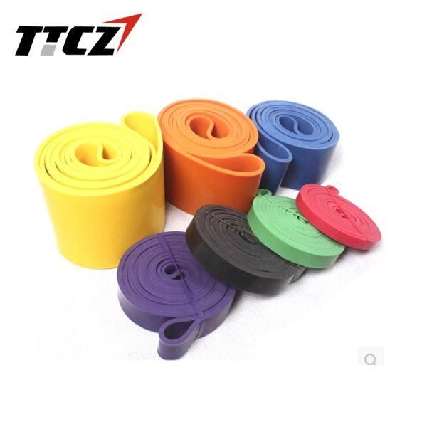 저렴한 높은 품질의 새로운 2.5 센치메터 두께 높은 품질 저항 확장기 전원 강도 밴드 피트니스 장비 도매 TTCZ 스포츠, 구매 품질 저항 밴드 직접 중국 공급 업체 : High Quality Fitness Equipment CrossFit Loop Pull Up Physical Resistance Bands 9 Colors Rubber Expander Bands Length 208