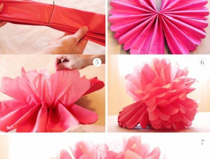 8 best Blumen basteln images on Pinterest